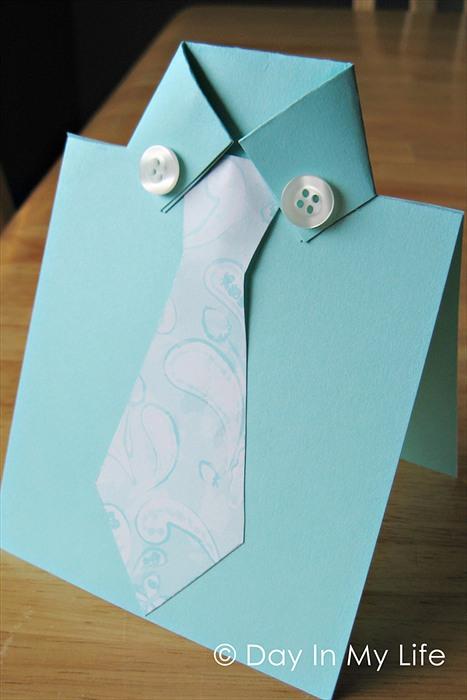 Подарок из бумаги своими руками для папы